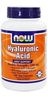 Hyaluronic Acid 100 мг 120 капсул Now