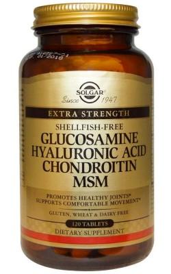 Glucosamine Hyaluronic Acid Chondroitin Msm - купить за 3850