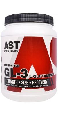 GL3 L-Glutamine 1,2 кг AST