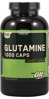 Glutamine 1000 Caps 240 капсул Optimum Nutrition