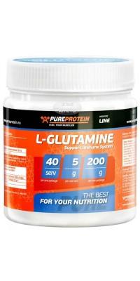 L-Glutamine 200 г PureProtein