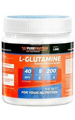 L-Glutamine 200 г PureProtein - купить за 450