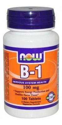 B-1 100 мг 100 таблеток Now