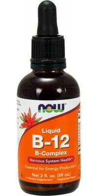 B-12 Liquid B-Complex 59 мл Now