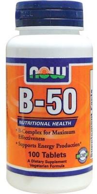 B-50 100 таблеток Now