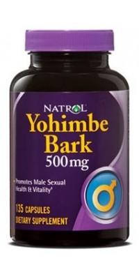 Yohimbe Bark 500 мг 135 капсул Natrol