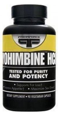 Yohimbine HCL 90 капсул Prima Force