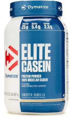 Elite Casein 908 г Dymatize Nutrition - купить за 2650