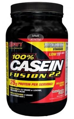 100% Casein Fusion 1000 г SAN - купить за 2610