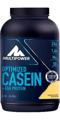 100% Optimized Casein + Egg Protein 900 г Multipower