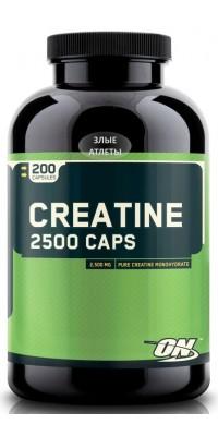 Creatine Monohydrate 2500 Caps 200 капсул Optimum Nutrition