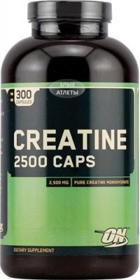 Creatine Monohydrate 2500 Caps 300 капсул Optimum Nutrition