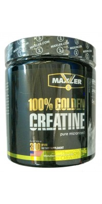 100% Golden Creatine 300 г Maxler USA