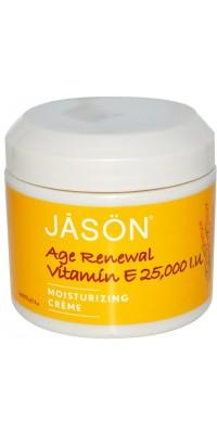 Age Renewal Vitamin E Creme 25.000 Iu 113 г Jason Natural