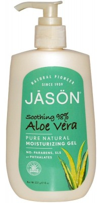 Aloe Vera 98% Moisturizing Gel 227 мл Jason Natural