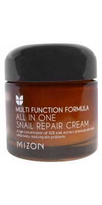 All In One Snail Repair Cream Регенерирующий крем с улитками Mizon