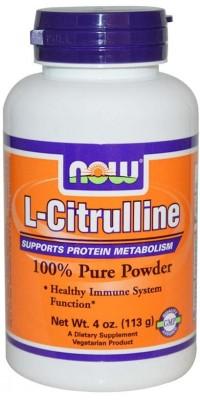 Цитруллин L-Citrulline 113 г Now