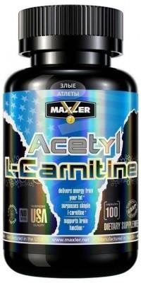 Acetyl L-Carnitine 100 капсул Maxler USA