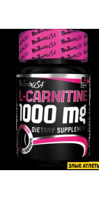 L-Carnitine 1000 30 таб BioTech USA