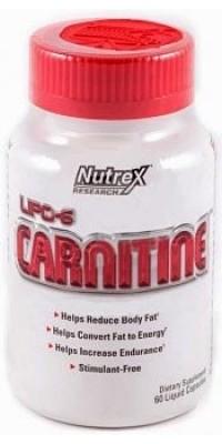 Lipo 6 Carnitine 60 капсул Nutrex