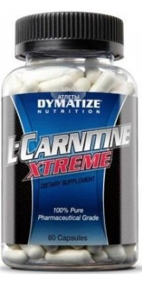 L-Carnitine Xtreme 60 капсул Dymatize Nutrition