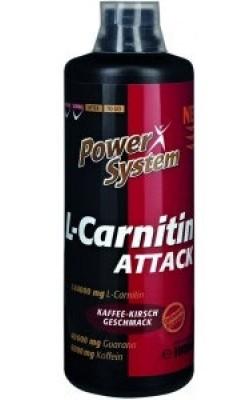 L-Carnitin Attack 144.000 1 л Power System - купить за 2010