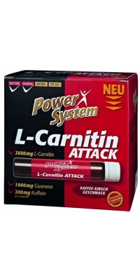 L-Carnitin Attack 3600 мг 25 мл Power System