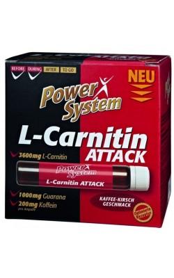 L-Carnitin Attack 3600 мг 25 мл Power System - купить за 120