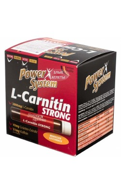 L-Carnitine Strong 3000 мг 25 мл Power System - купить за 100
