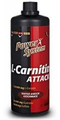L-Carnitine Attack 120.000 мг 1 л Power System