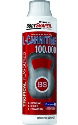 L-Carnitine 100.000 500 мл Weider - купить за 1480