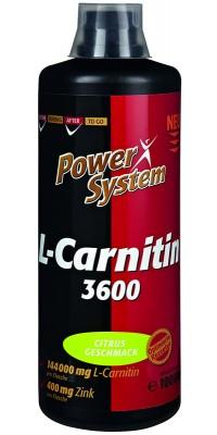 L-Carnitin 3600 1 л Power System