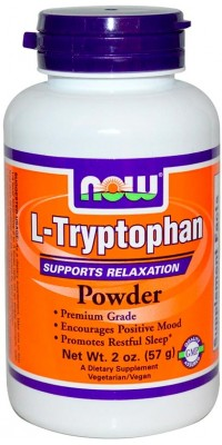 Триптофан L-Tryptophan Powder 57 г Now