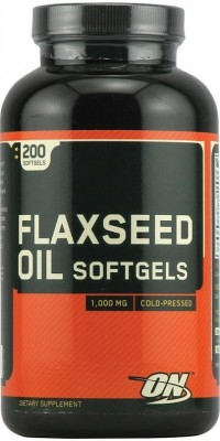 Flaxseed Oil 1000 мг 200 капсул Optimum Nutrition