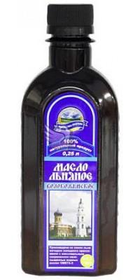 Масло льняное Волоколамское 250 мл Соцсервис АГРО