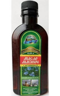 Масло льняное Волоколамское с витамином Е - купить за 90