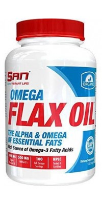 Omega Flax Oil 100 гелевых капсул SAN
