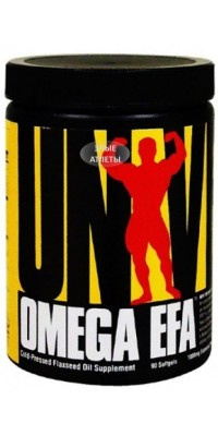 Omega EFA 90 капсул Universal Nutrition