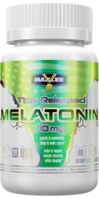 Melatonin Time Released 10 мг 60 таблеток Maxler USA