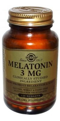 Melatonin 3 мг 120 таблеток Solgar