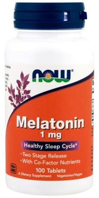 Melatonin 1 мг 100 таблеток Now