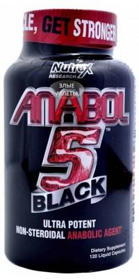 Anabol 5 Black 120 капсул Nutrex