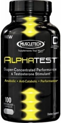 Alpha Test 112 капсул MuscleTech