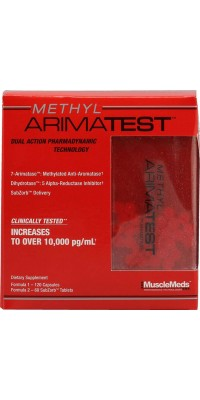 Methyl Arimatest 216 капсул MuscleMeds