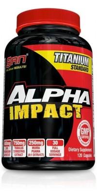 Alpha Impact 120 капсул SAN