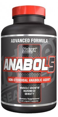 Anabol 5 120 капсул Nutrex