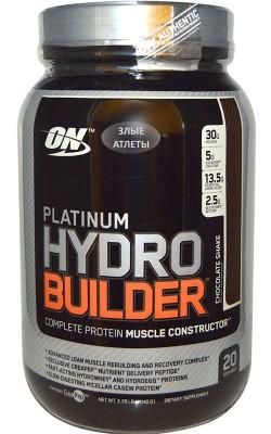 Platinum HydroBuilder 1,04 кг Optimum Nutrition - купить за 2420