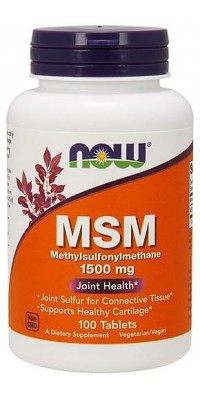 Msm 100 таблеток по 1500 мг Now