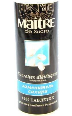 Заменитель сахара Мэтр 1200 таблеток - купить за 60