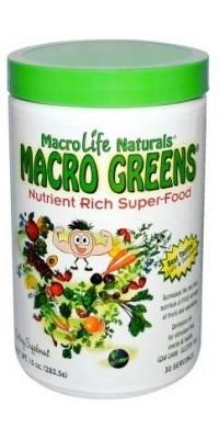 Macro Greens 283 г MacroLife Naturals